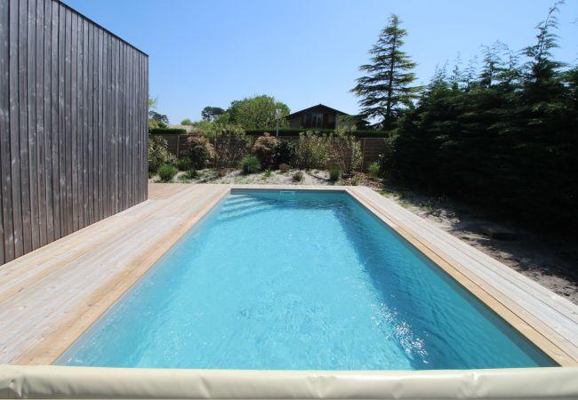 Chalet à Andernos-les-Bains - Chalet 4 personnes avec piscine privative