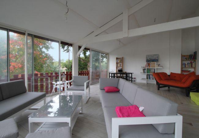 Maison à Andernos-les-Bains - Grande villa à 100 m de la plage