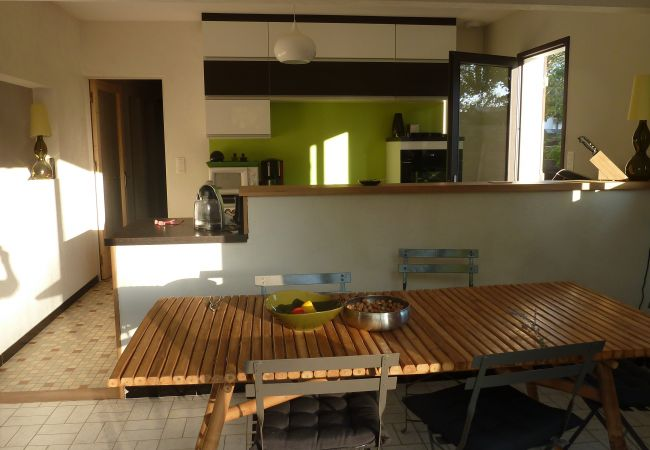 à Andernos-les-Bains - Agréable villa 3 chambres avec beau jardin