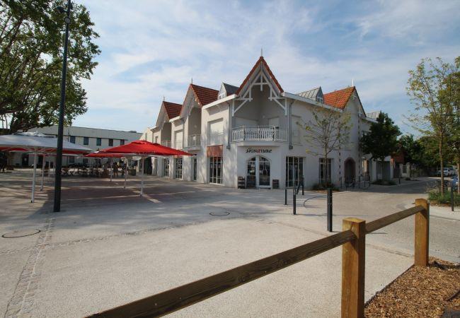 Appartement à Andernos-les-Bains - Confortable appartement T3 centre-ville