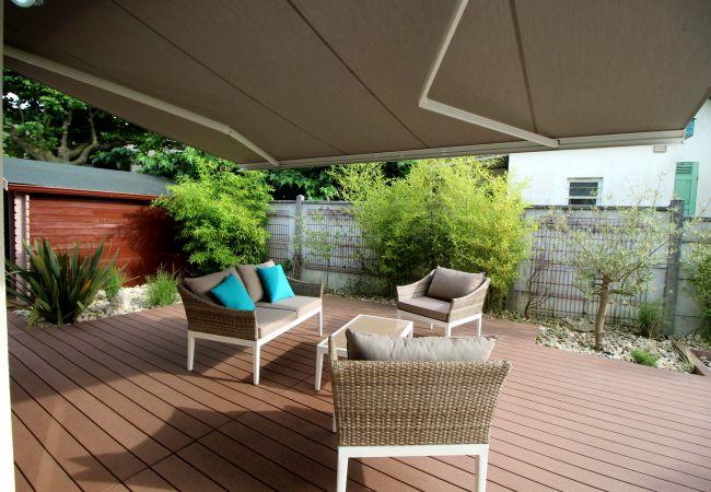 Maison à Andernos-les-Bains - Agréable villa 3 chambres proche de la plage