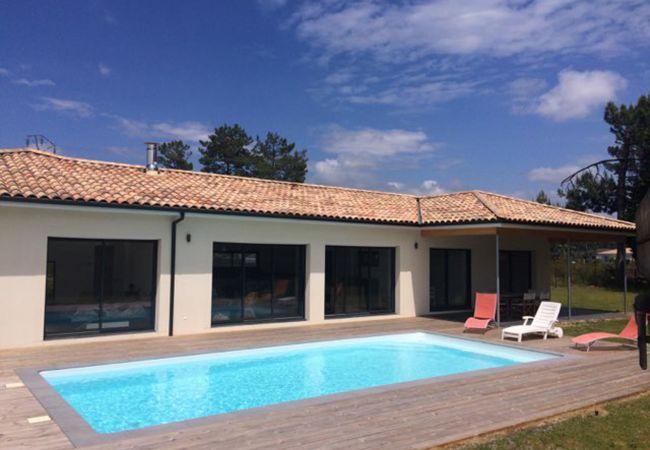 à Andernos-les-Bains - Magnifique villa neuve 5 chambres avec piscine